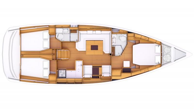 Sun Odyssey 469 - Jeanneau (voilier)