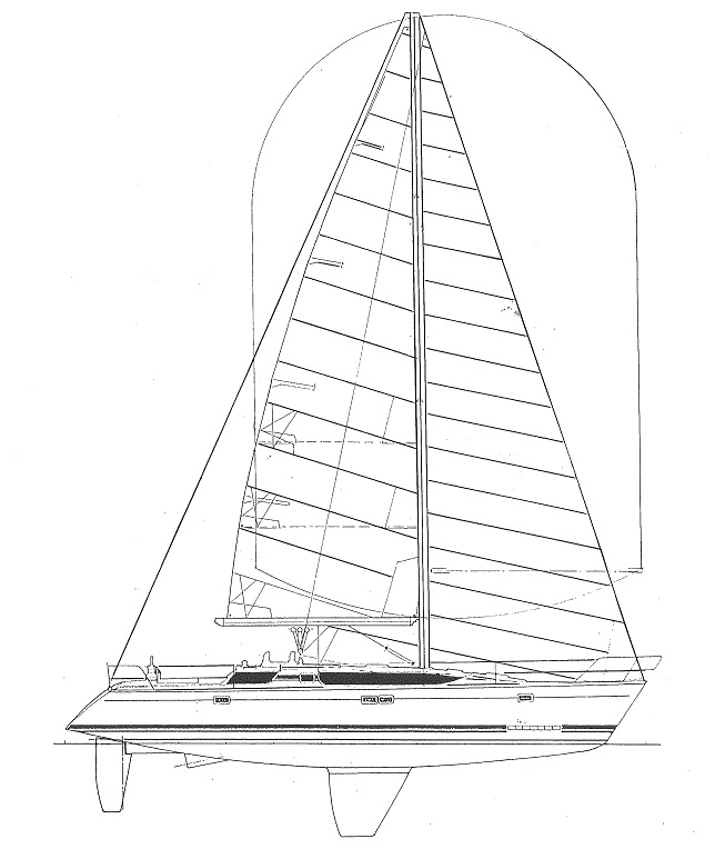 Feeling 446 / Elite 446 - Kirié (sailboat)