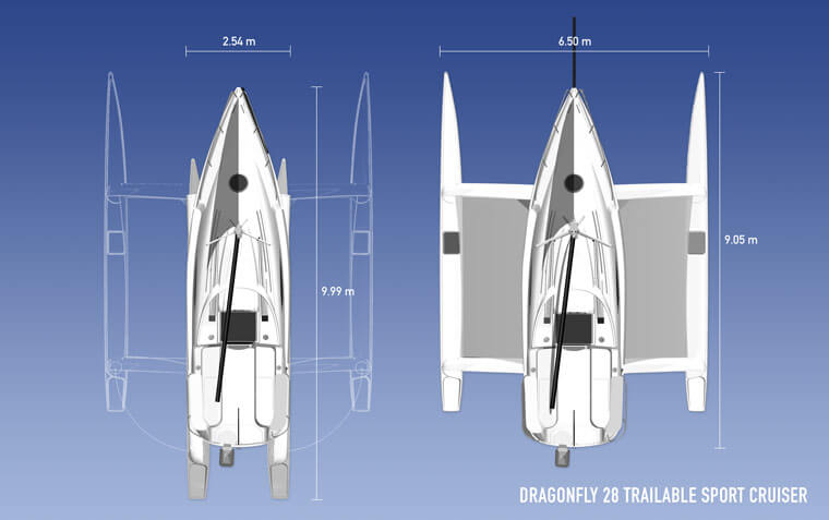 Dragonfly 28 - Quorning Boats (voilier)