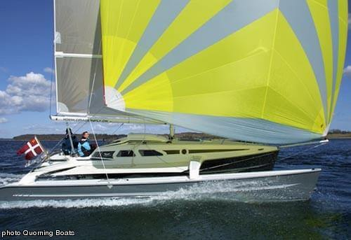 Dragonfly 920 - Quorning Boats (sailboat)