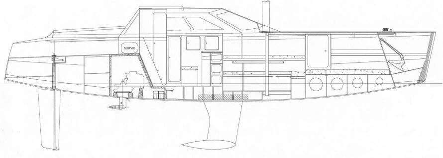 RM 1050 - Fora Marine (sailboat)