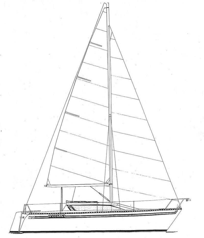 Feeling 720 NV / Elite 25 - Kirié (sailboat)