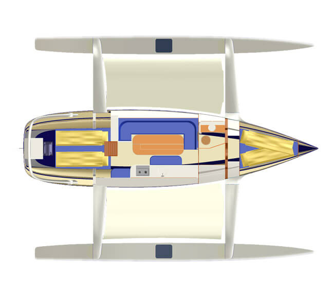Dragonfly 35 - Quorning Boats (voilier)