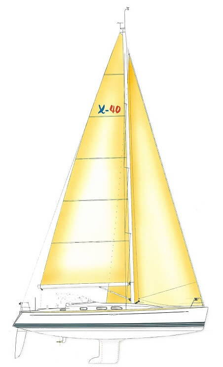 X-40 - X-Yachts (sailboat)