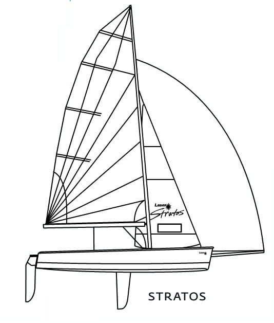 Laser Stratos - Laser Performance (sailboat)