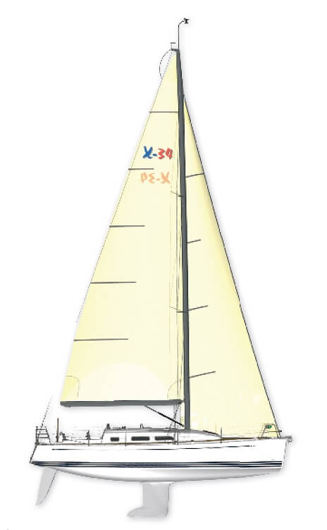 X-34 - X-Yachts (sailboat)