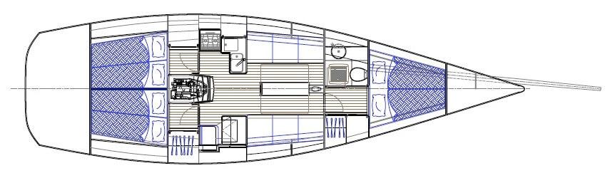 Club Swan 42 / NYYC 42 - Nautor's Swan (sailboat)
