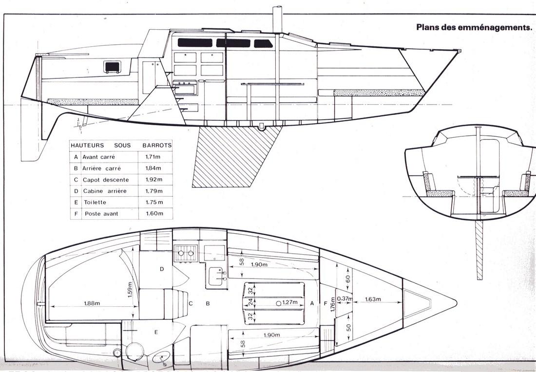 Attalia 32 - Jeanneau (sailboat)