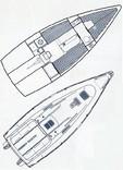 First 260 Spirit - Bénéteau (sailboat)