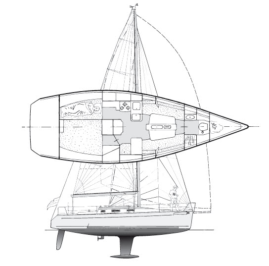 First 34.7 - Bénéteau (sailboat)