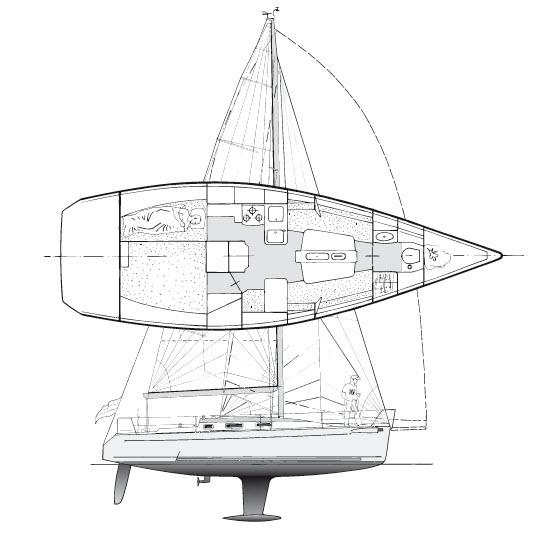First 34.7 - Bénéteau (voilier)