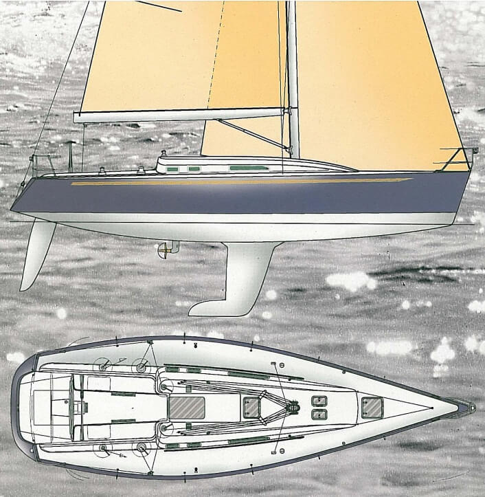 IMX 40 - X-Yachts (voilier)