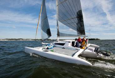Dash 750 MkII - Corsair (sailboat)