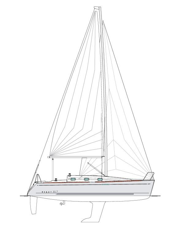 First 31.7 - Bénéteau (voilier)