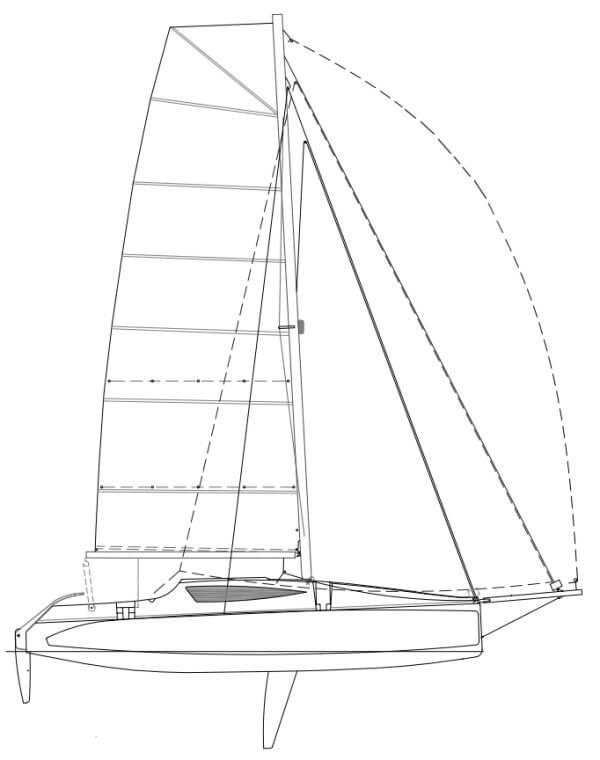Corsair Cruze 970 (voilier)